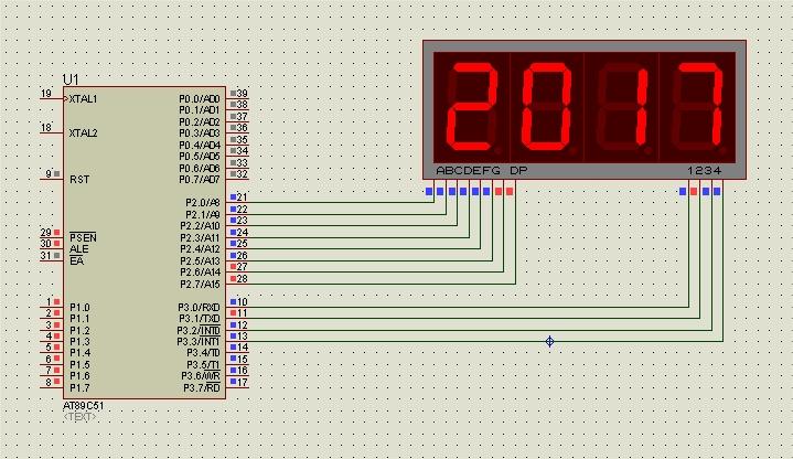 Điều khiển LED 7 thanh phần 2: Phương pháp Quét LED