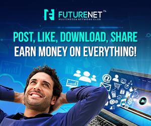 FutureNet Mạng Xã hội Chia sẻ lợi nhuận với người dùng
