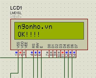 Điều khiển LCD sử dụng Vi điều khiển 8051